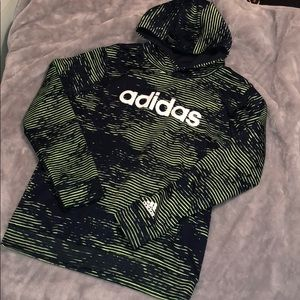 Adidas Hoodie! Green and Black🖤💚